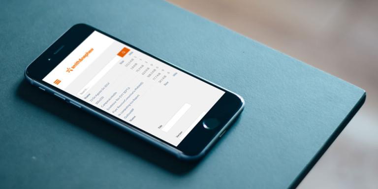 Web App Smith&Nephew